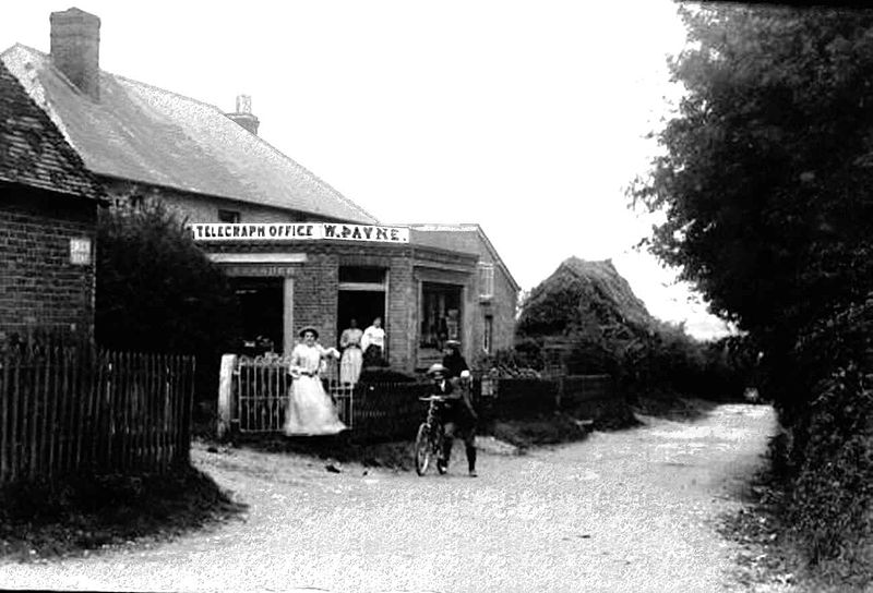 Bentworth Telegraph Office (Hants, UK) c1905